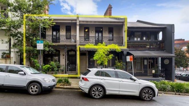 Sydney lawyer Michael Croke lists Potts Point office terrace