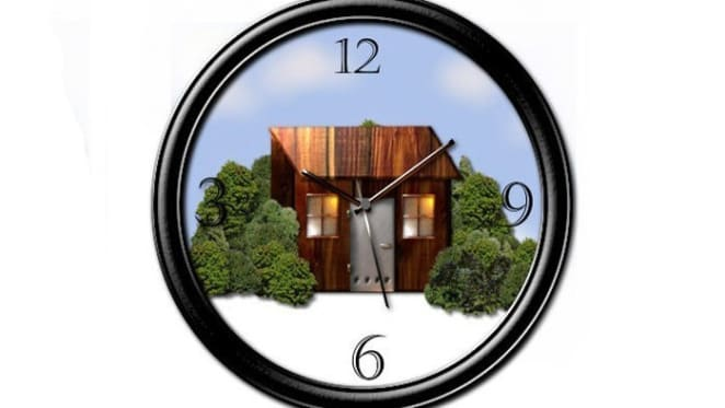 NSW regions at the top of HTW property clock for houses in April