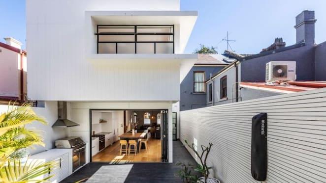 Designer Rebecca Elms lists modernised Redfern terrace