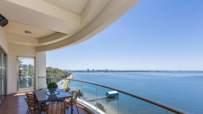 Gine Rinehart lists two Perth apartments