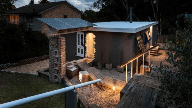 Architect Alexander Symes lists Blackheath retreat Up-Cycle House