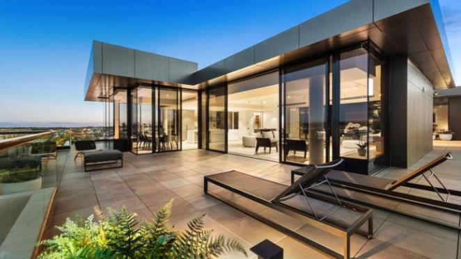 Luxury Richmond penthouse listed