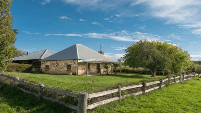 Historic 1827 Sutton Forest cottage, Swanton listed