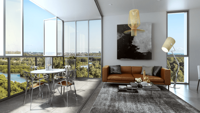 Smart tech a seller for One the Waterfront in Wentworth Point