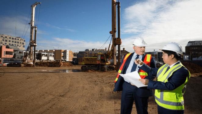 Construction starts on $300 million West Franklin development