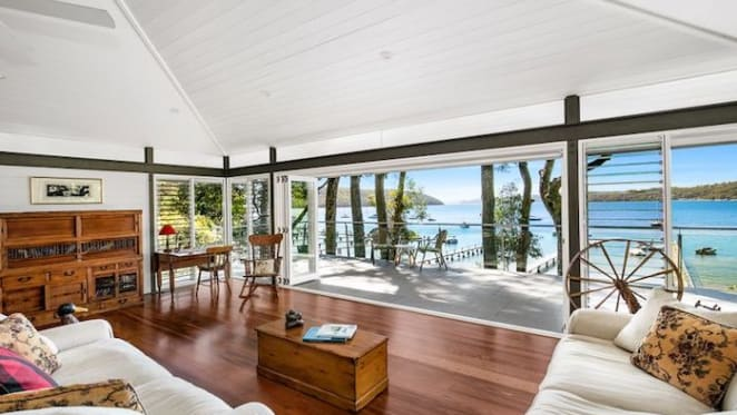 Scotland Island waterfront home listed