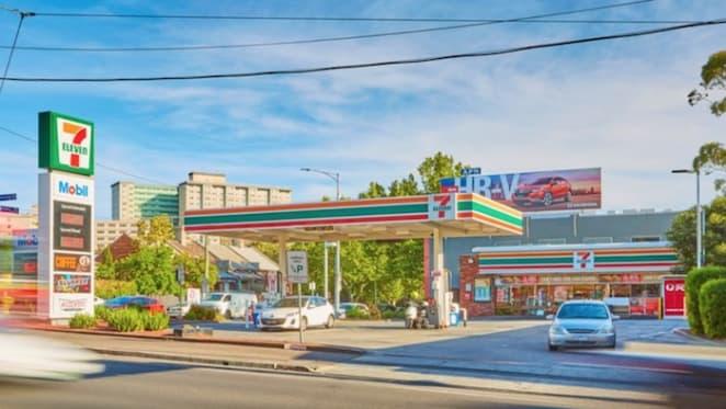 North Melbourne 7-Eleven servo for sale