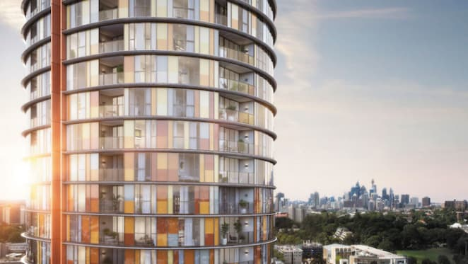 All set for the tallest building at Green Square as OVO celebrates completion