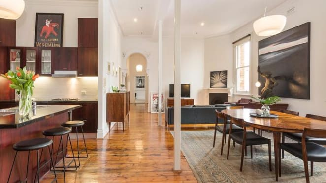 The War Room in St Kilda's The George listed for sale