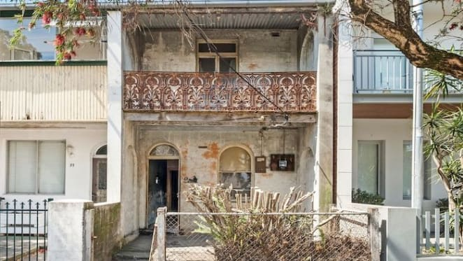 Dilapidated St Peters terrace sells for almost $1 million