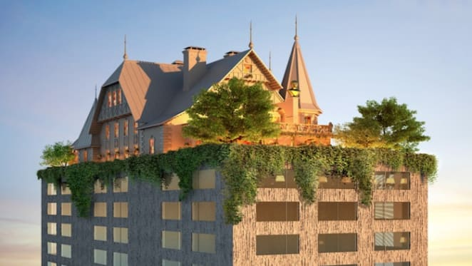 Philippe Starck's first hotel for France