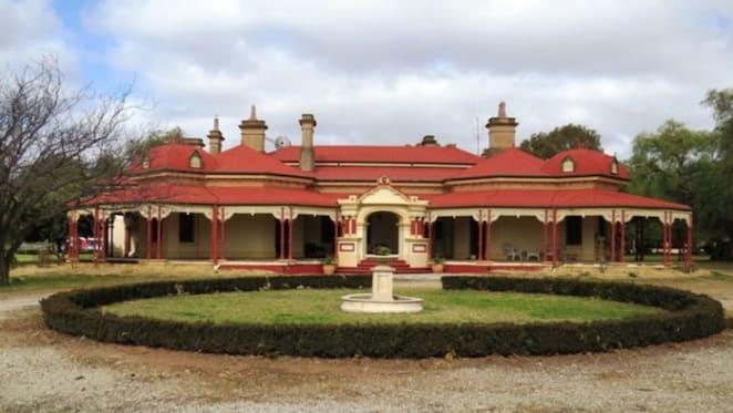 Nangunia Station, NSW southern Riverina homestead listed