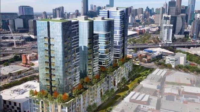 Landmark Fender Katsalidis South Melbourne development site listed