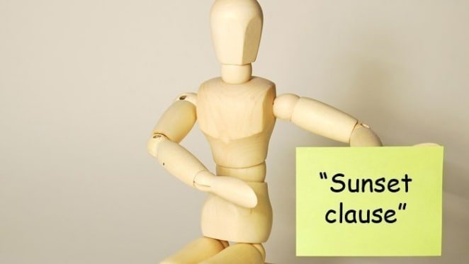 What is a 'sunset clause'? Off the plan investment terms explained