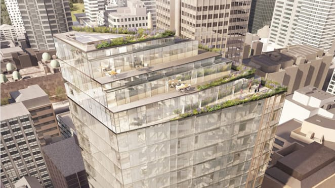 CRONE wins 230 Sussex Street hotel design competition