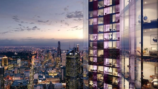 Swanston Central apartment tower in Melbourne almost sold out as construction starts