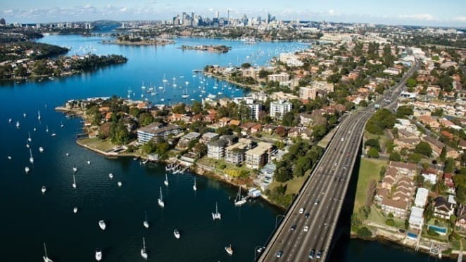 Sydney is like other international cities with end of ever rising property boom