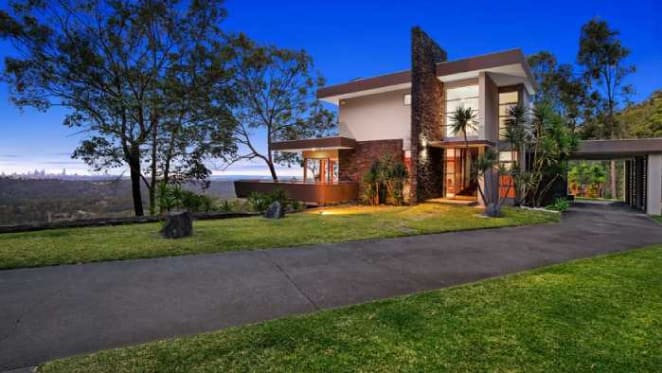 Award-winning cartoonist Paul Zanetti lists Gold Coast hinterland home