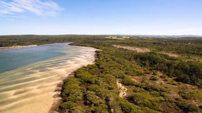 Tea Gardens, Port Stephens waterfront property on the market