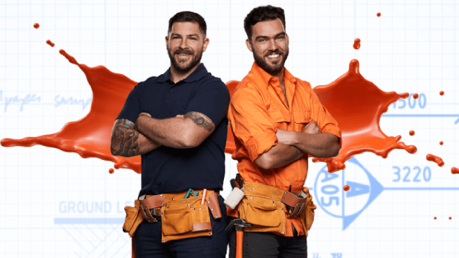 Melbourne chippies Tim and Mat expect they can win House Rules 2019