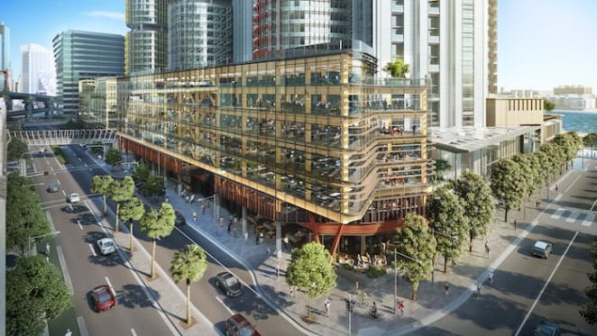 Barangaroo South set for second timber office tower dubbed Daramu House