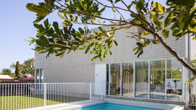 Australia's 2016 best small house listed at Broadbeach Waters