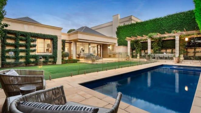 Businessman Graeme Samuel lists Toorak home with $8-8.4 million hopes