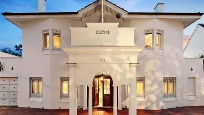 Cloyne, the noteworthy Toorak trophy home, sells