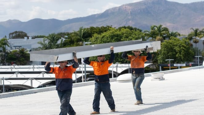 Townsville Airport redevelopment underway
