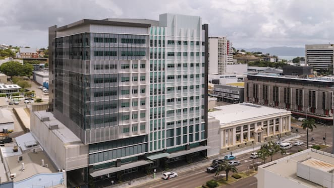 Government-occupied Townsville office building sold in record deal
