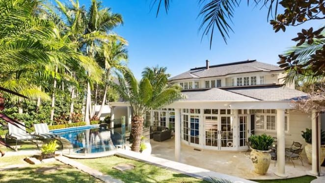 French Provincial-style trophy home in Vaucluse listed