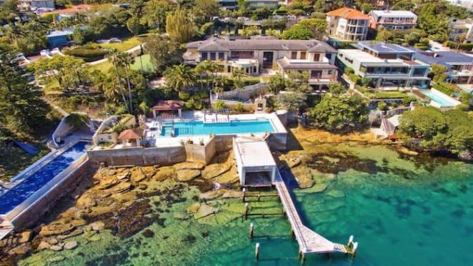Elizabeth Doyle of Doyle restaurant's lists Vaucluse home