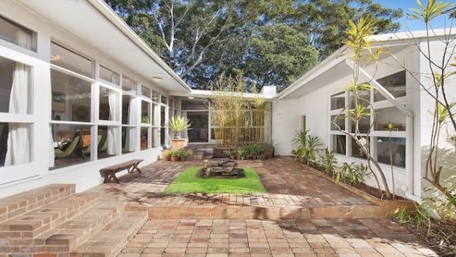 1950s Wahroonga modernist home by Sydney Ancher listed