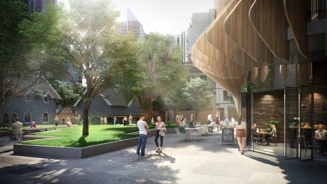 Melbourne's Wesley Place to host new multi-use public space