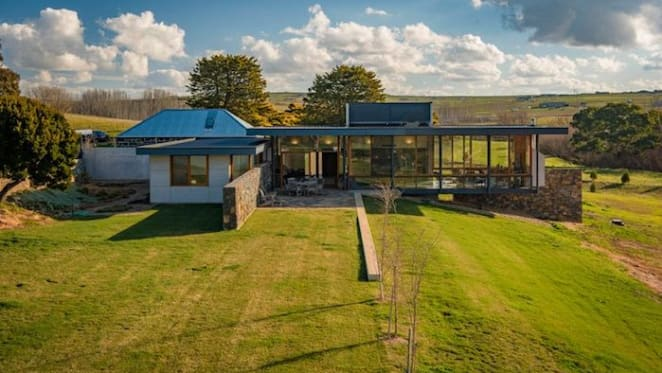 Yass riverfront architect-designed trophy home listed