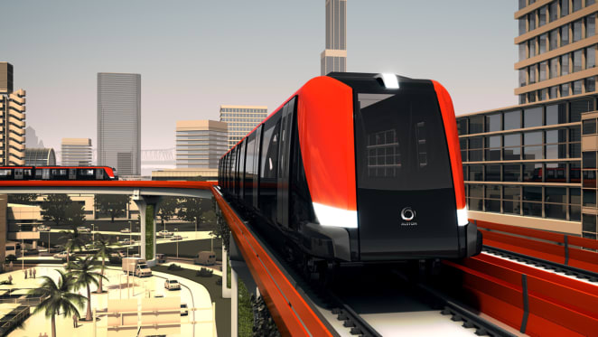 New rail technology: Alstom's Axonis light metro