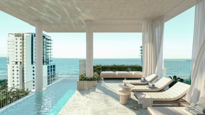 Take a look inside Bottega Group's $52 million Broadbeach apartment block 123OBR