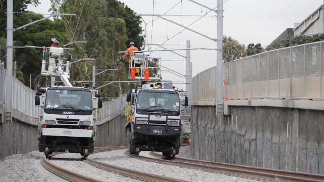 Only two level crossings remain between the City and Ringwood