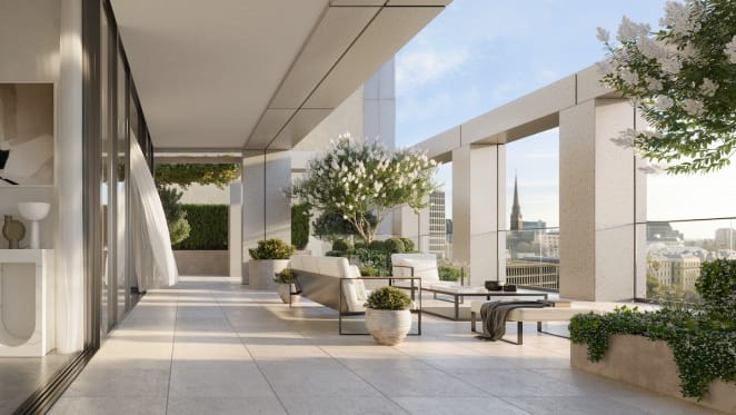 Melbourne's prestige off the plan apartment market booms with $25 million sales at Cbus Property's 17 Spring Street