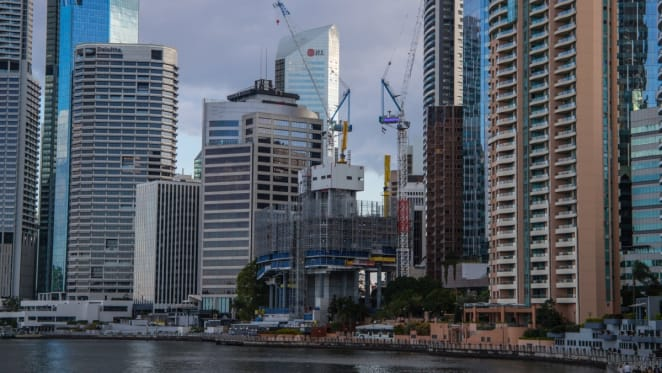 443 Queen Street, Brisbane construction update