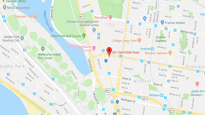 St. Boulevard location
