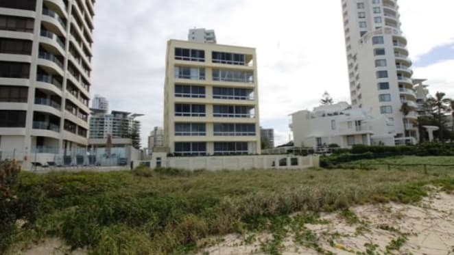 Anglesea Court, beachfront Gold Coast apartment block listed