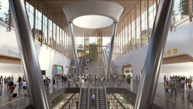 The Melbourne Airport Rail Link decision making process rolls on through the media