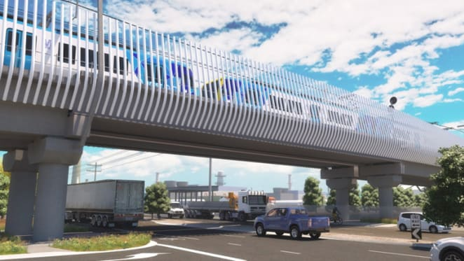 Level crossing removal construction blitz for Altona as mobile Myki trial announced