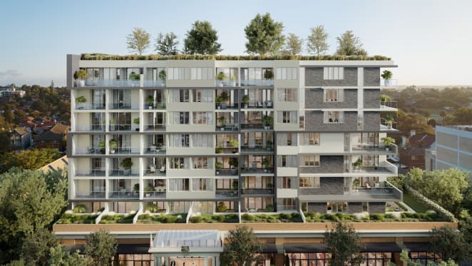 Deicorp start constructing The Anders apartments, part of mixed-use Ashfield development