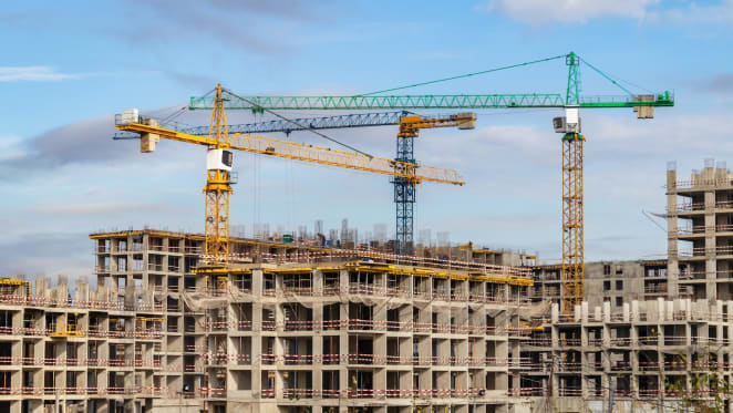 Apartment building activity turns positive for the first time since February 2018