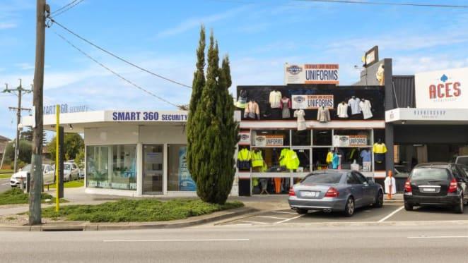 Ashwood retail strip with development upside listed