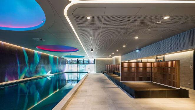 Aurora Melbourne Central amenities