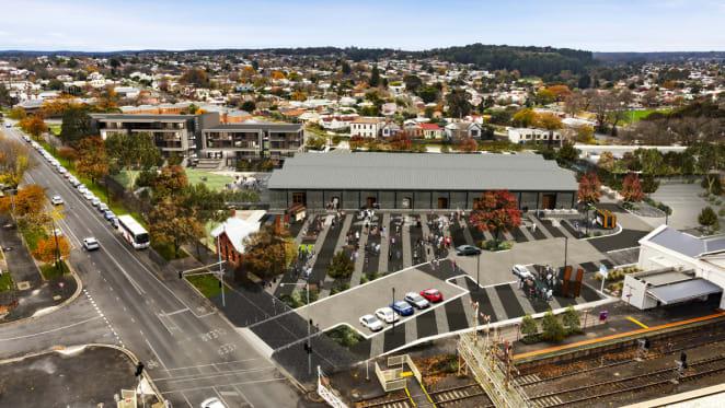 Ballarat's historic station precinct set to be transformed