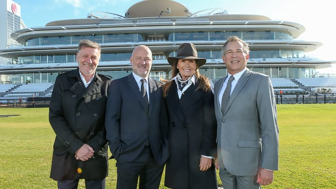 Bates Smart celebrates the completion of the new Club Stand for the Victorian Racing Club